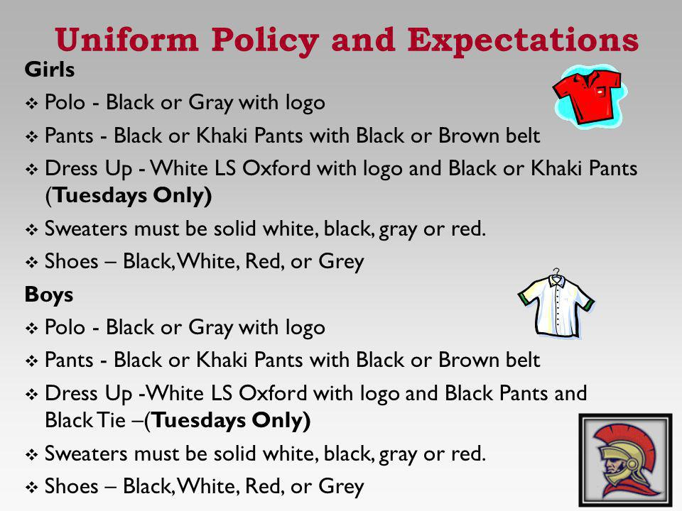 Uniform Policy and Expectations