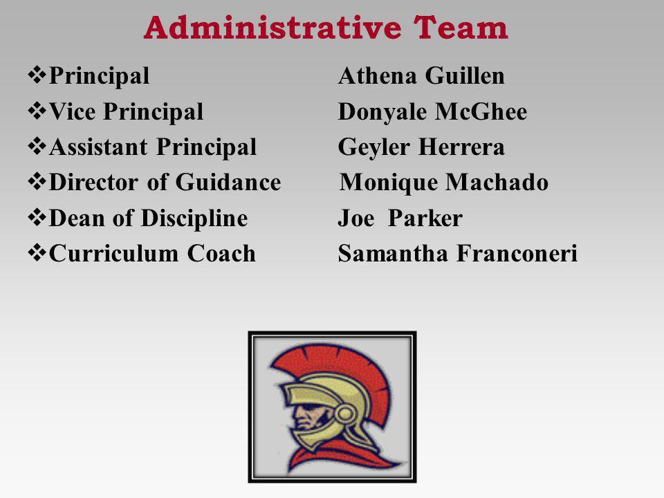 Administrative Team Principal Athena Guillen