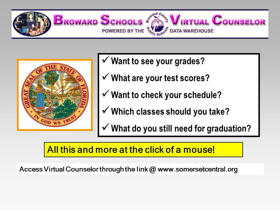 What are your test scores Want to check your schedule
