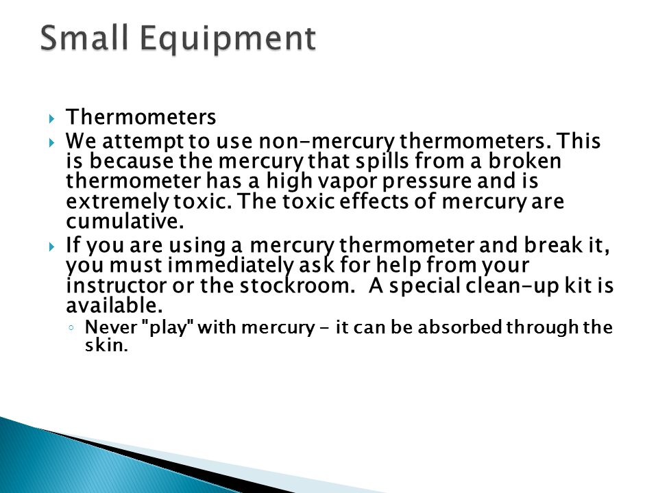 Small Equipment Thermometers