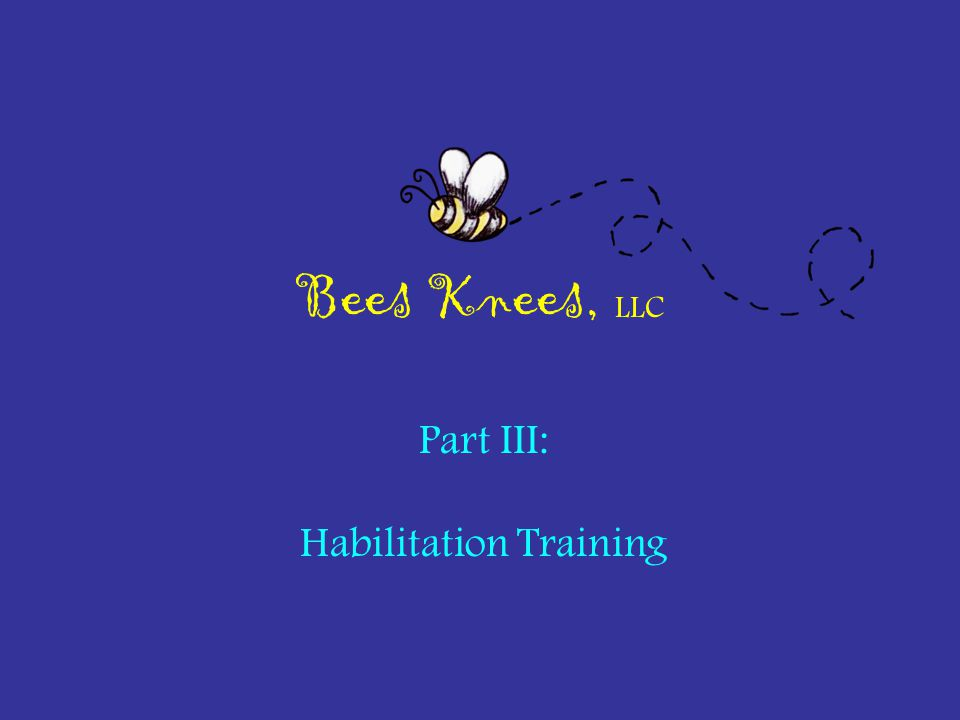 Habilitation Training