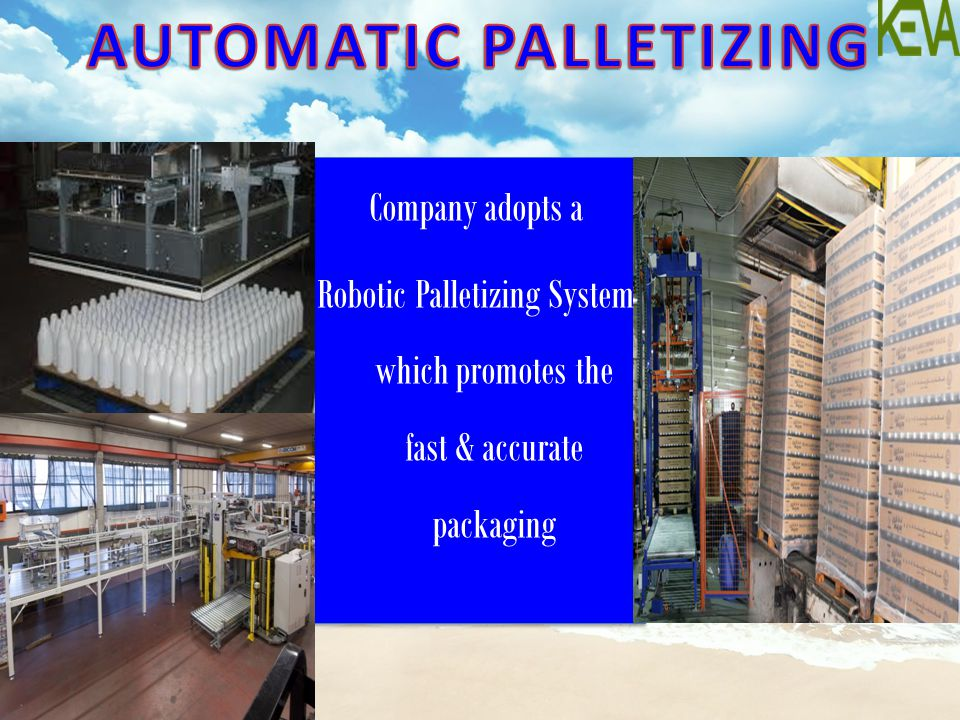 AUTOMATIC PALLETIZING