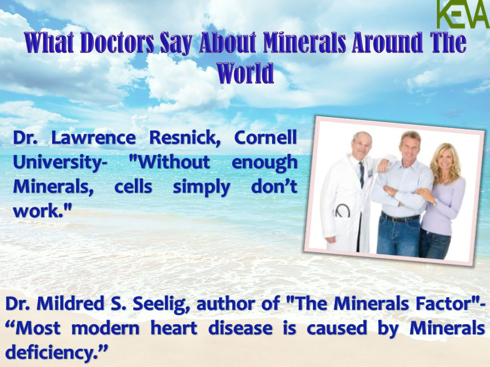 What Doctors Say About Minerals Around The World