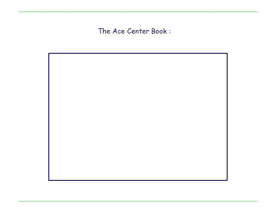 The Ace Center Book :