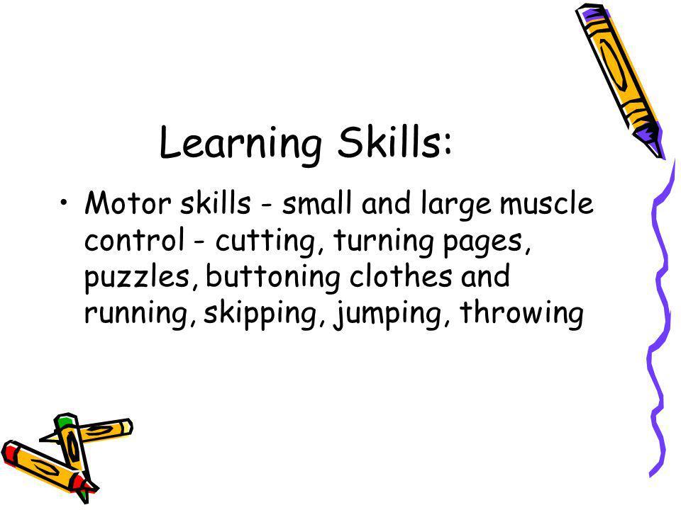 Learning Skills: