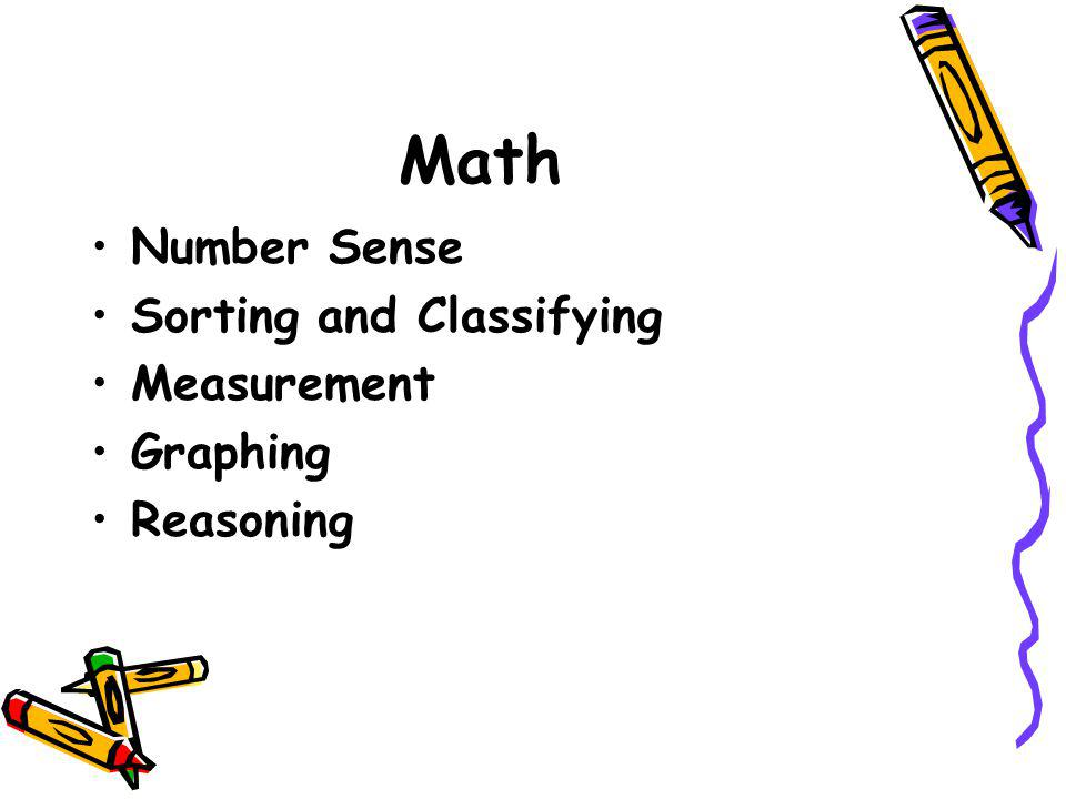 Math Number Sense Sorting and Classifying Measurement Graphing