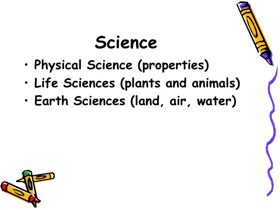 Science Physical Science (properties)