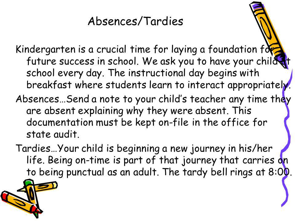 Absences/Tardies