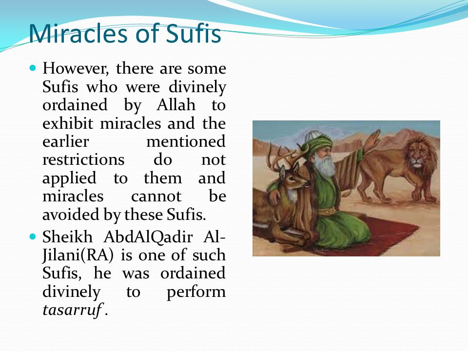 Miracles of Sufis
