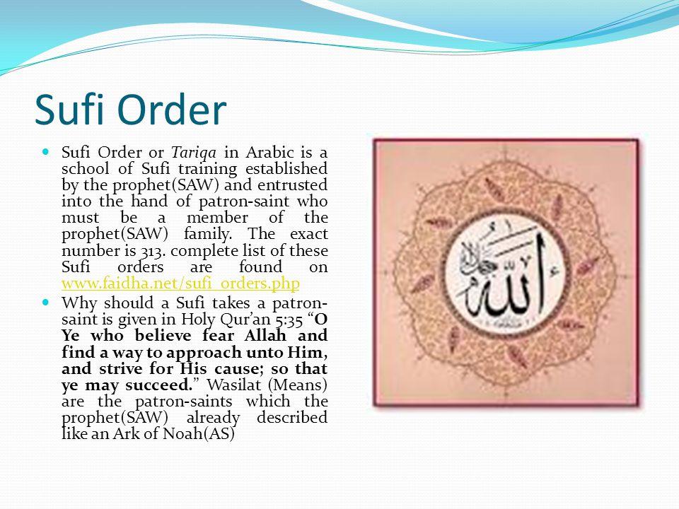 Sufi Order