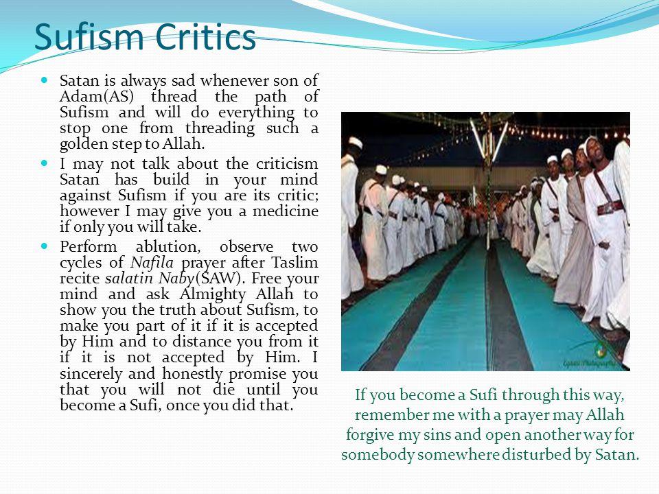 Sufism Critics