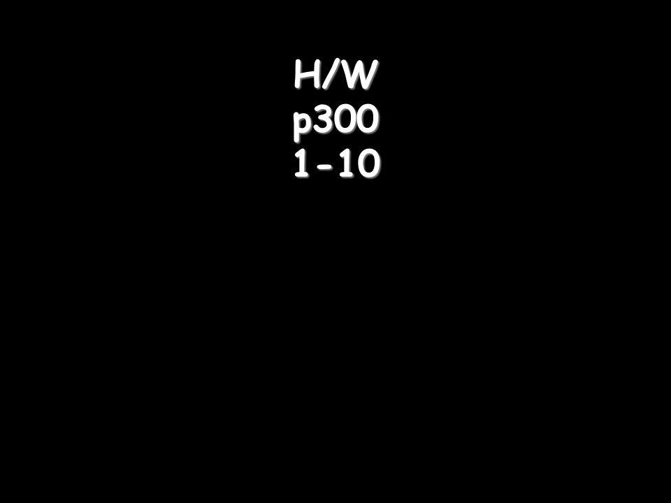 H/W p300 1-10