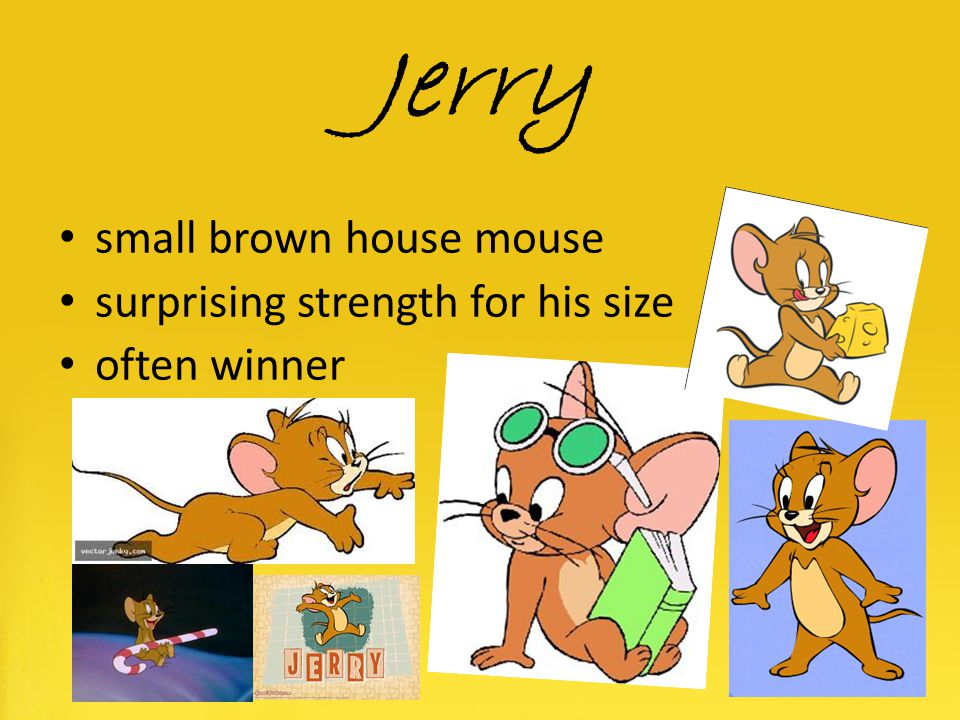 Jerry small brown house mouse surprising strength for his size