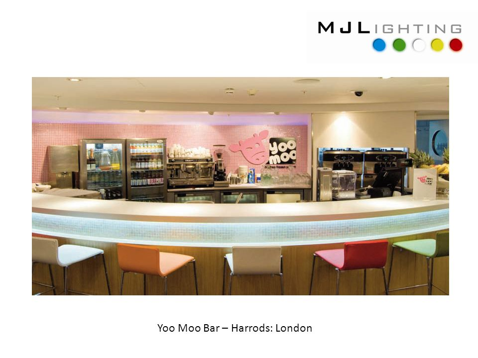 Yoo Moo Bar – Harrods: London