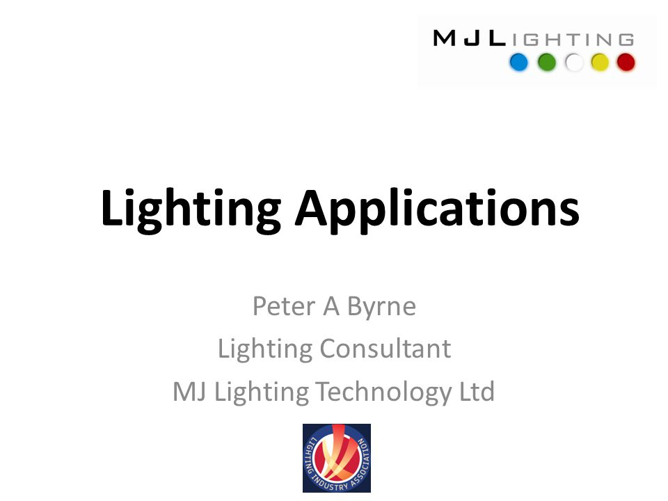 Lighting Applications