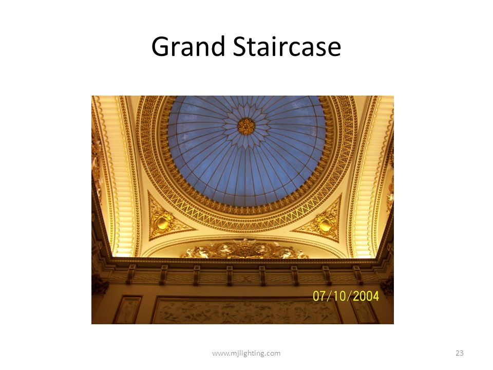 Grand Staircase www.mjlighting.com