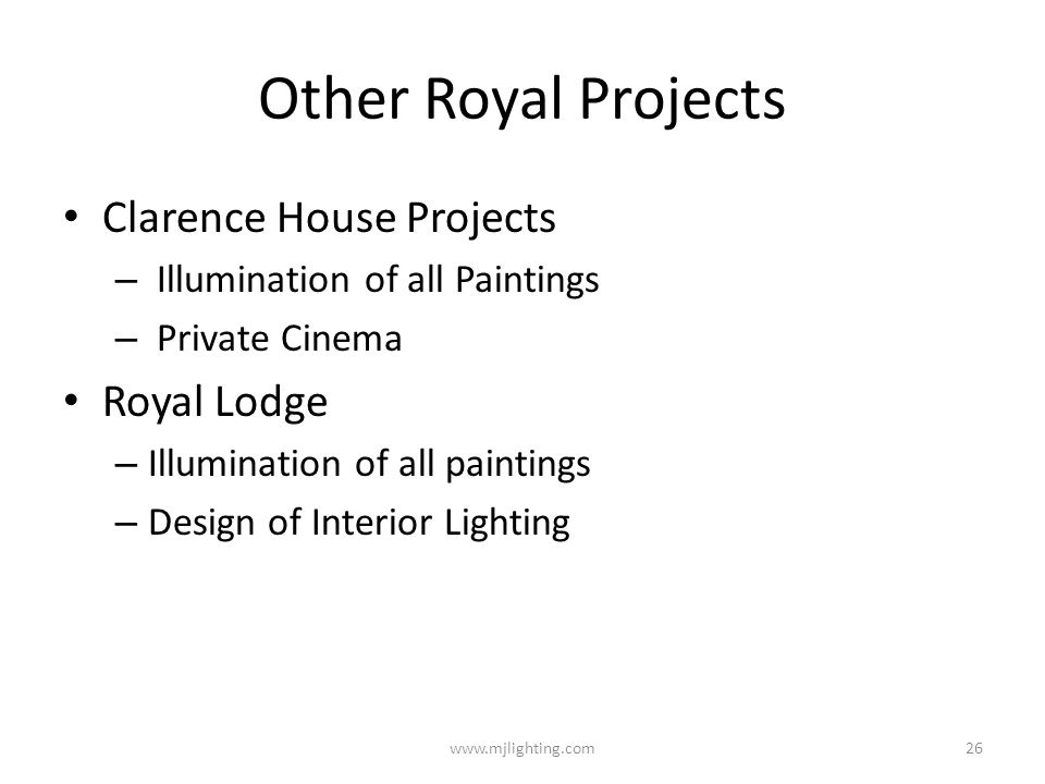 Other Royal Projects Clarence House Projects Royal Lodge