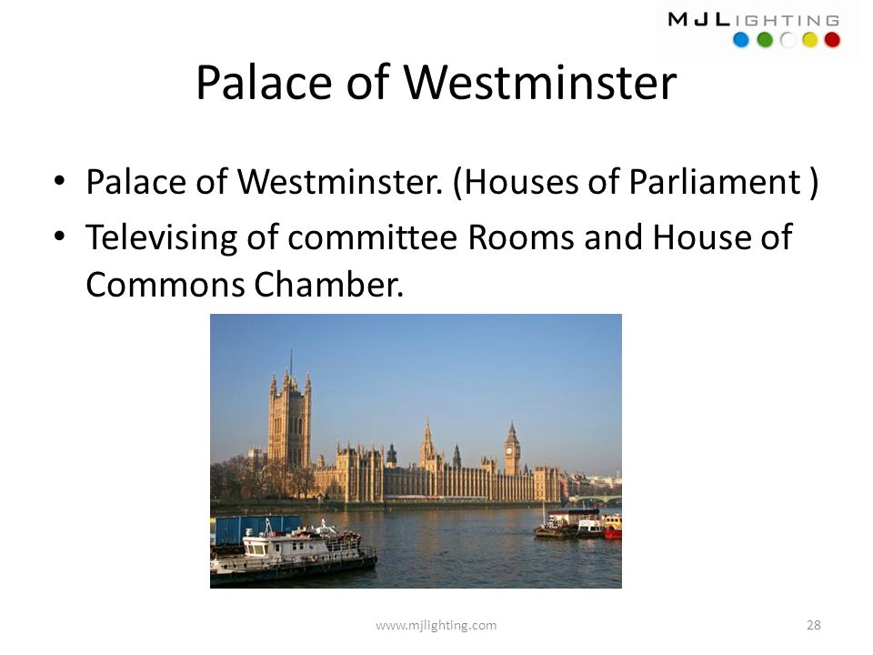 Palace of Westminster Palace of Westminster. (Houses of Parliament )