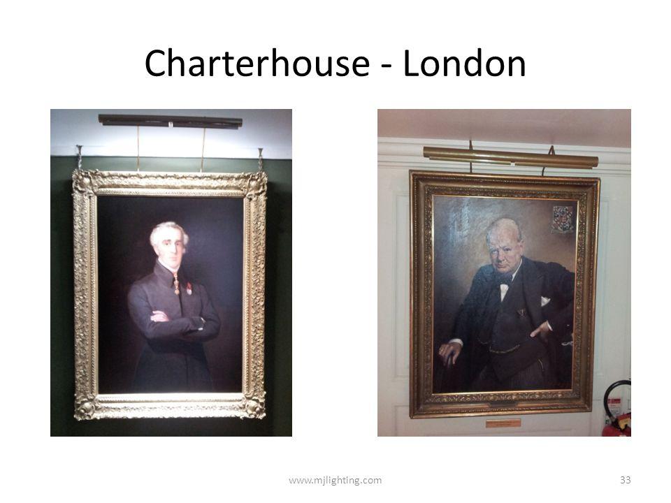 Charterhouse - London www.mjlighting.com