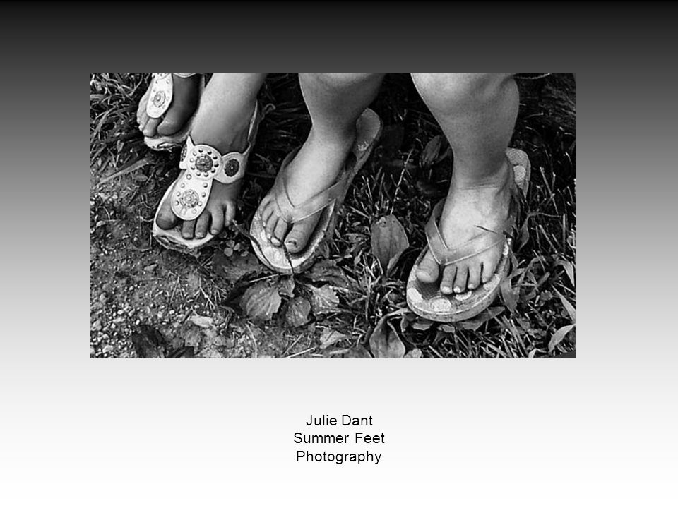 Julie Dant Summer Feet Photography