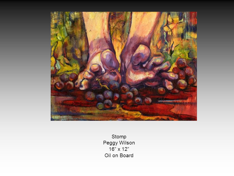 Stomp Peggy Wilson 16 x 12 Oil on Board