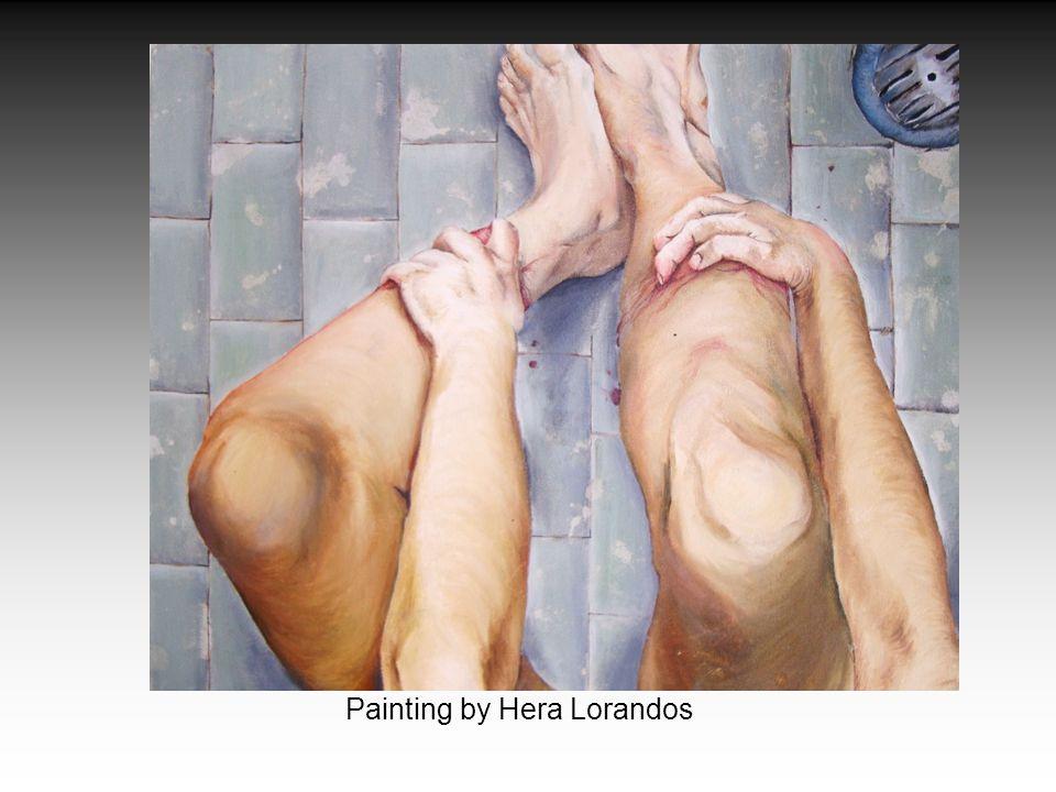 Painting by Hera Lorandos