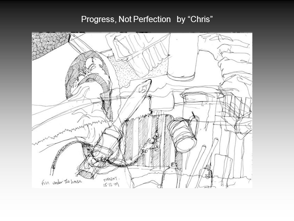Progress, Not Perfection by Chris