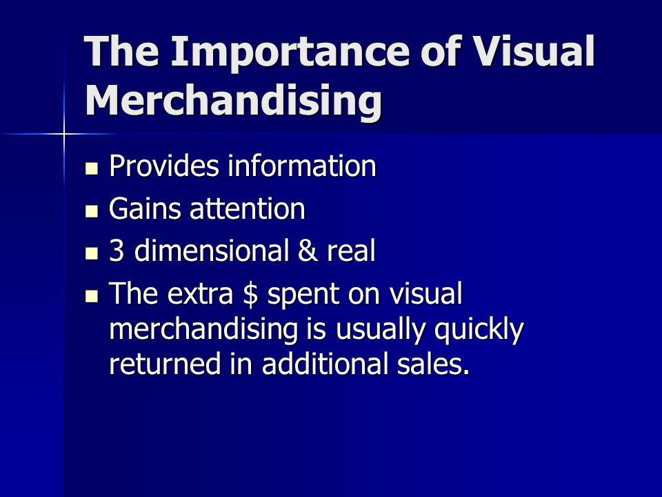 The Importance of Visual Merchandising