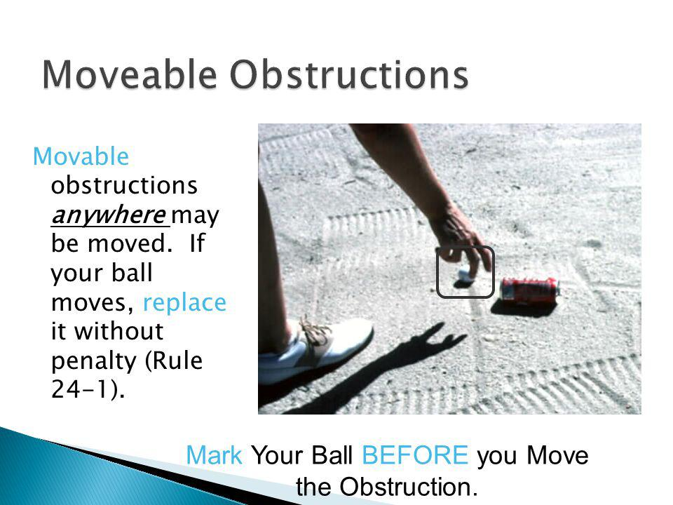 Moveable Obstructions