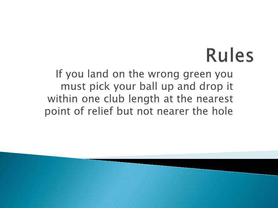 the rules of golf ppt download. Black Bedroom Furniture Sets. Home Design Ideas