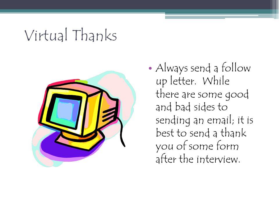 Virtual Thanks