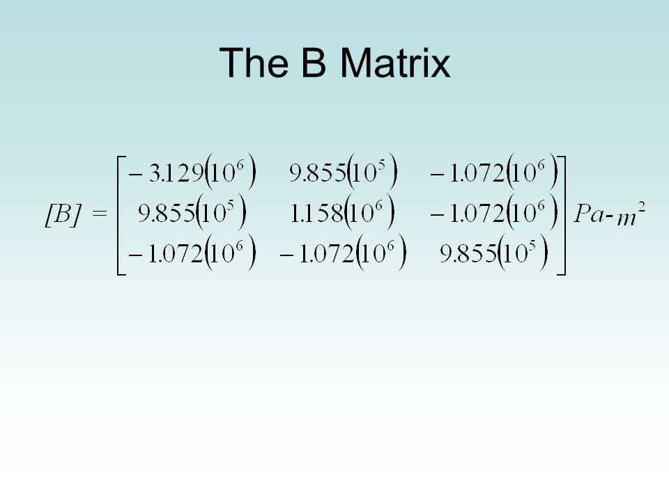 The B Matrix