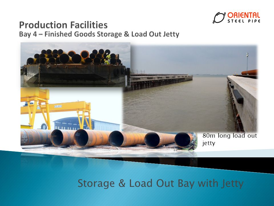 Storage & Load Out Bay with Jetty