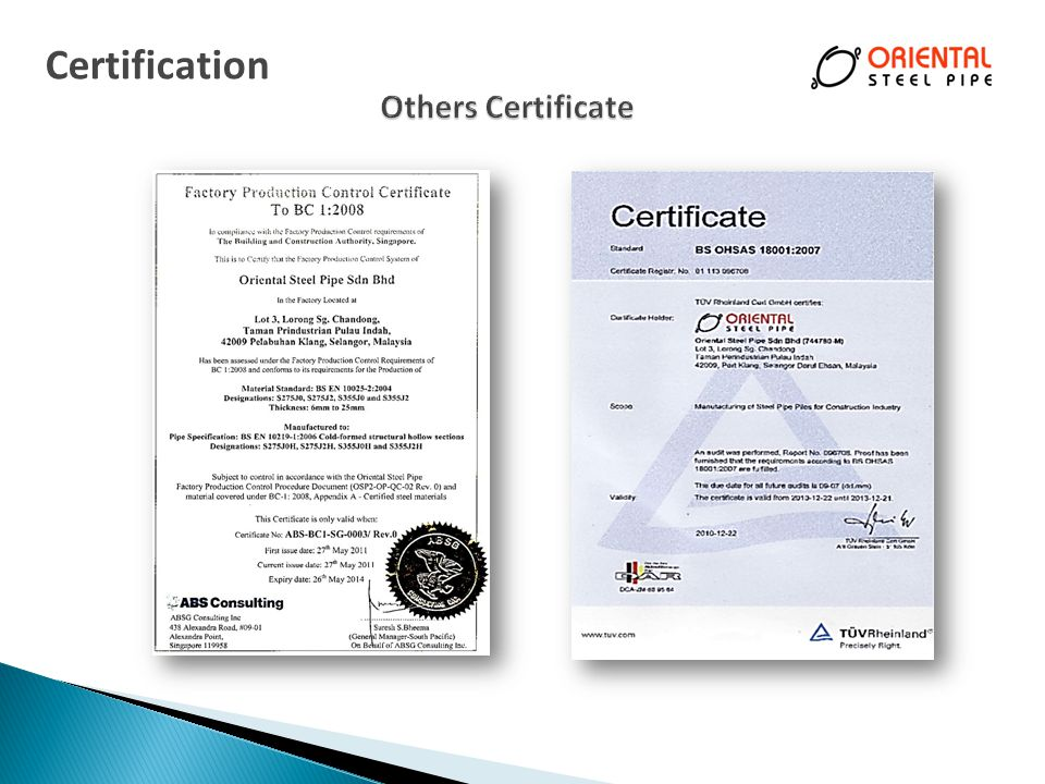Certification Others Certificate