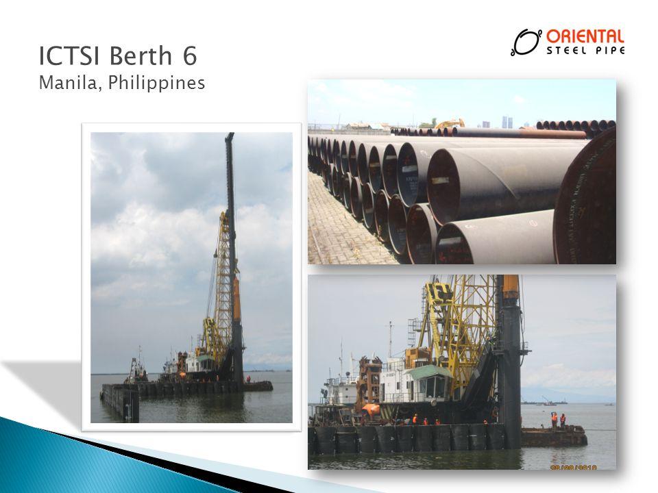 ICTSI Berth 6 Manila, Philippines