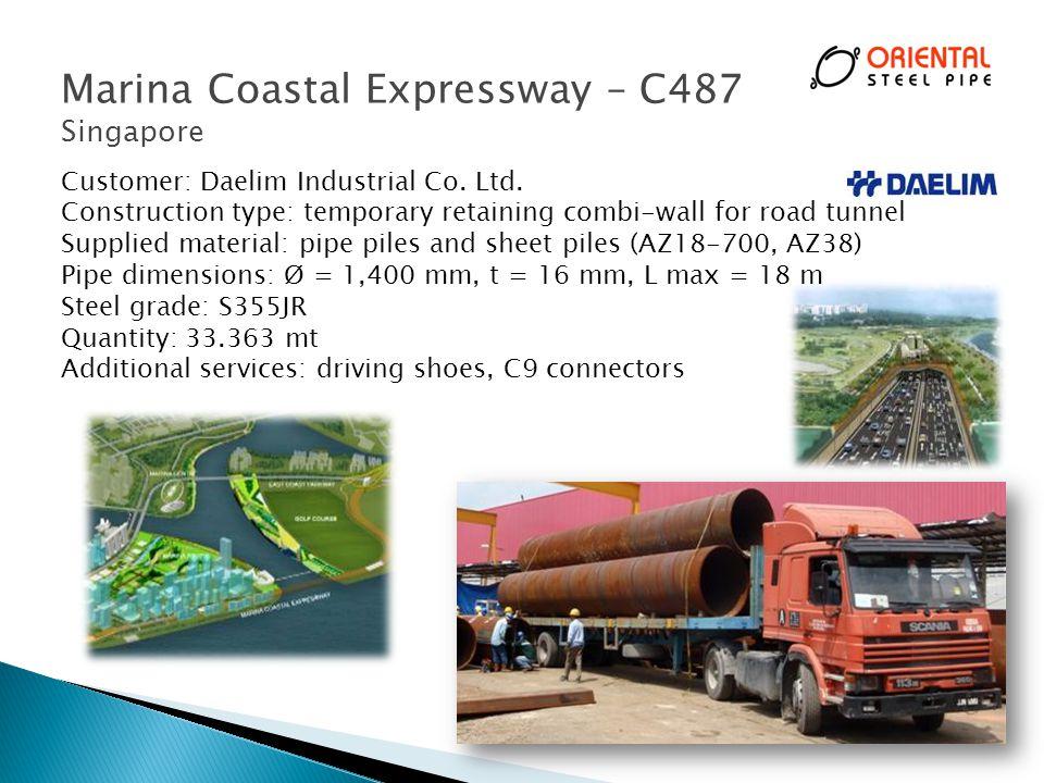 Marina Coastal Expressway – C487