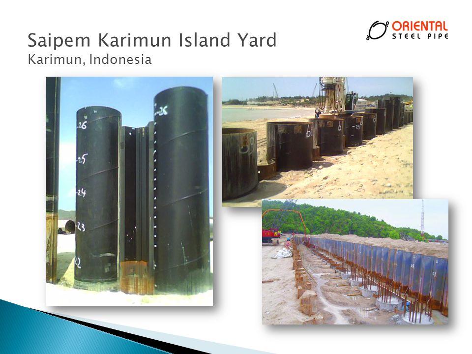Saipem Karimun Island Yard