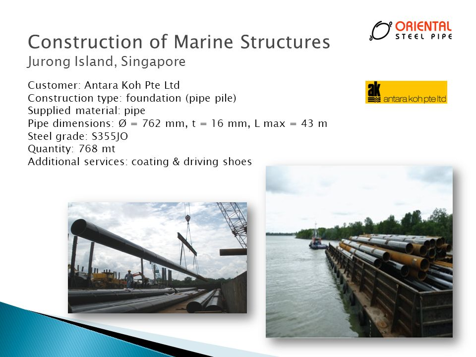 Construction of Marine Structures