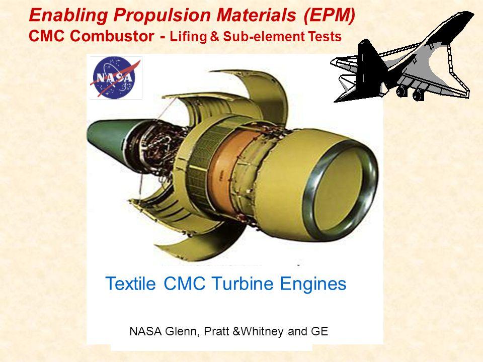 Textile CMC Turbine Engines