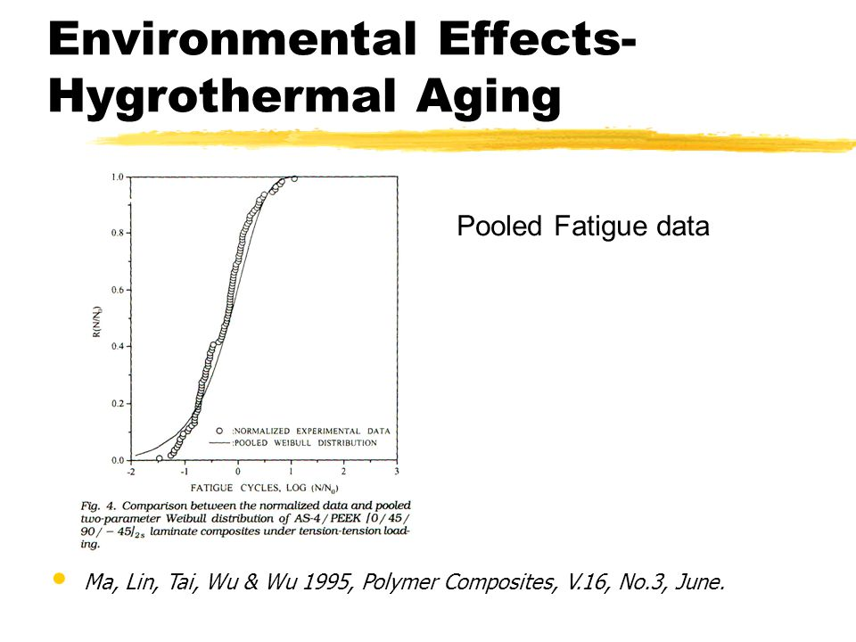 Environmental Effects-Hygrothermal Aging