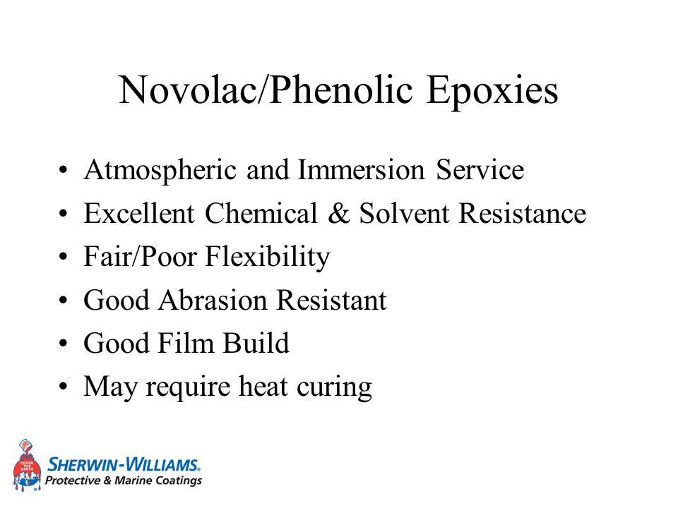 Novolac/Phenolic Epoxies