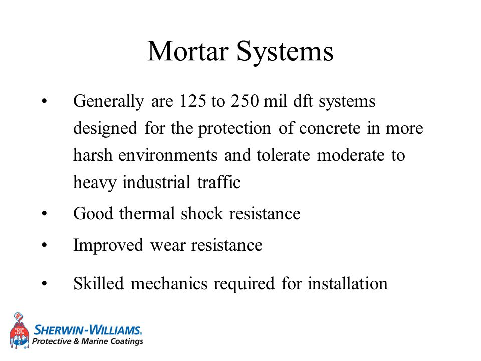 Mortar Systems