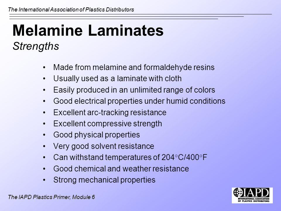 Melamine Laminates Strengths