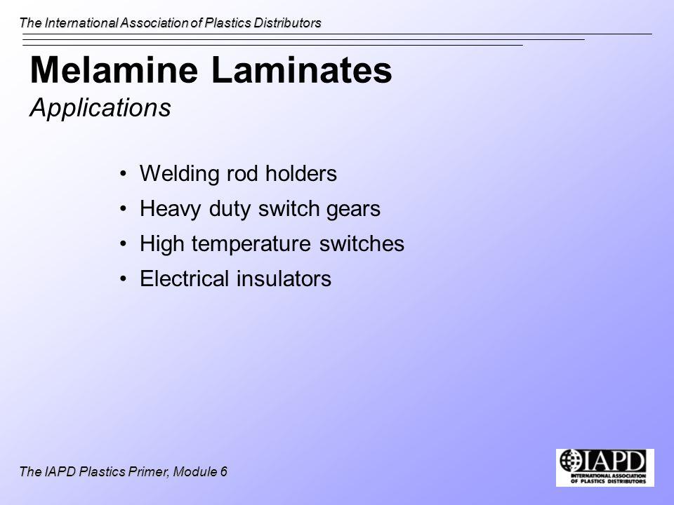 Melamine Laminates Applications