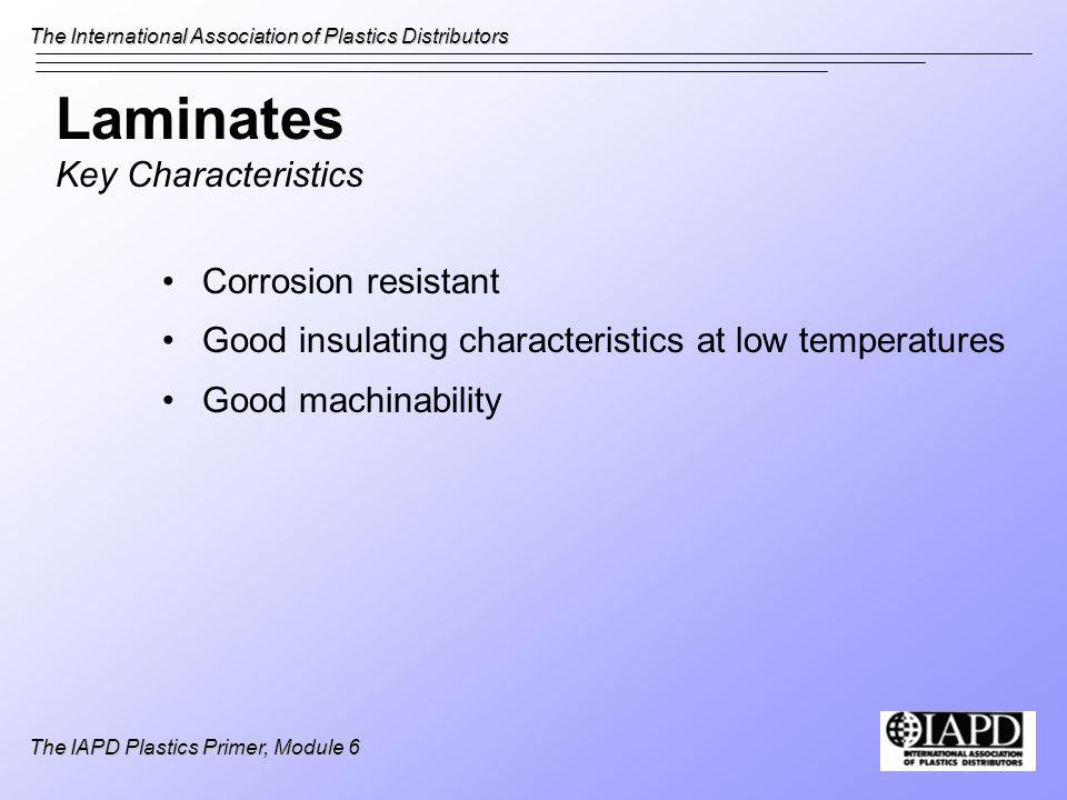 Laminates Key Characteristics
