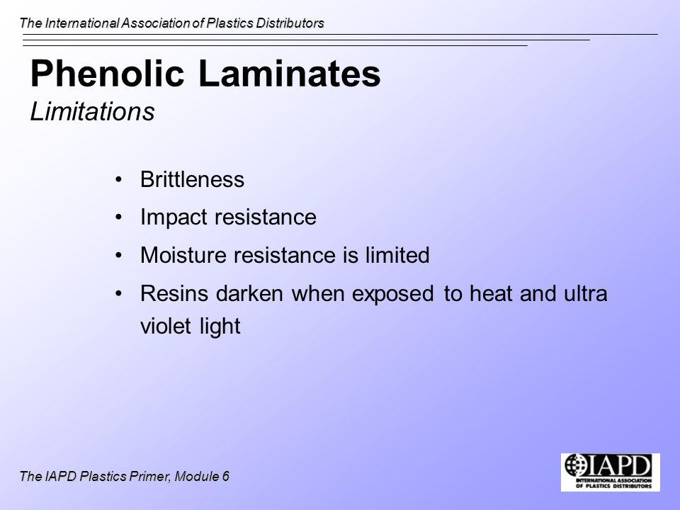 Phenolic Laminates Limitations