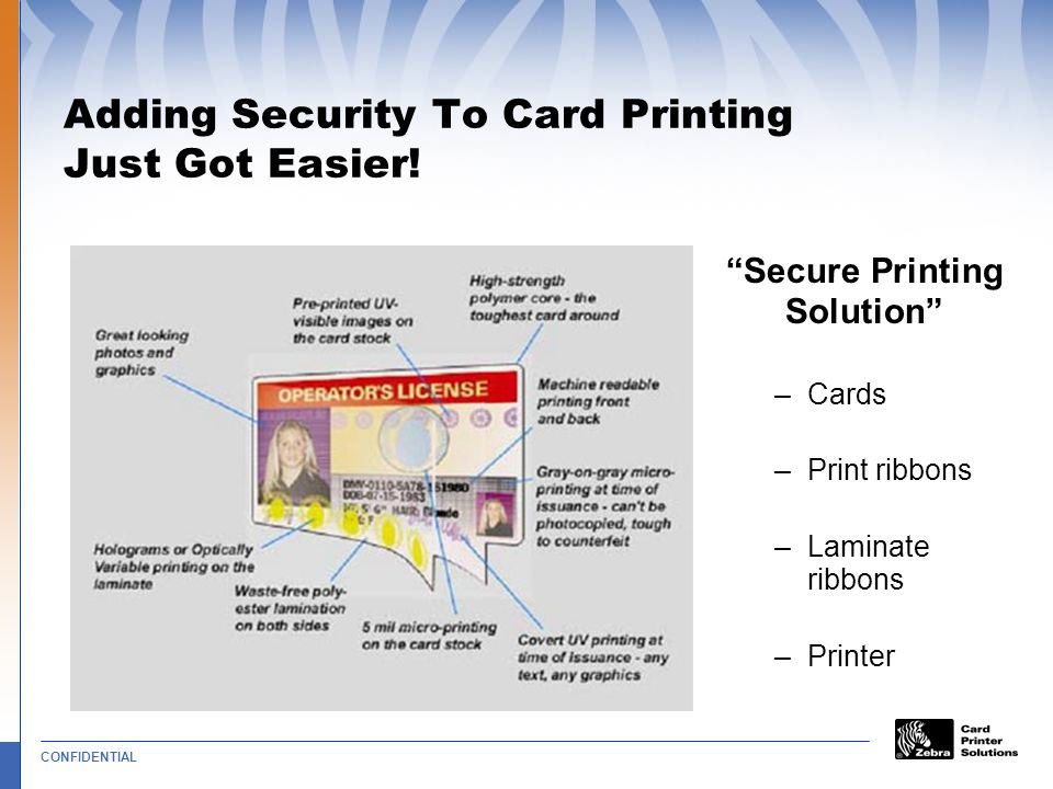 Adding Security To Card Printing Just Got Easier!