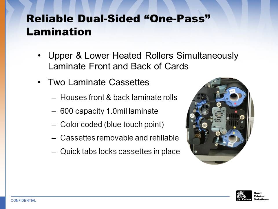 Reliable Dual-Sided One-Pass Lamination
