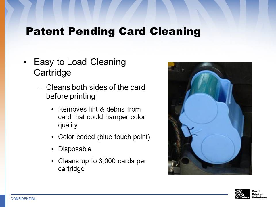 Patent Pending Card Cleaning