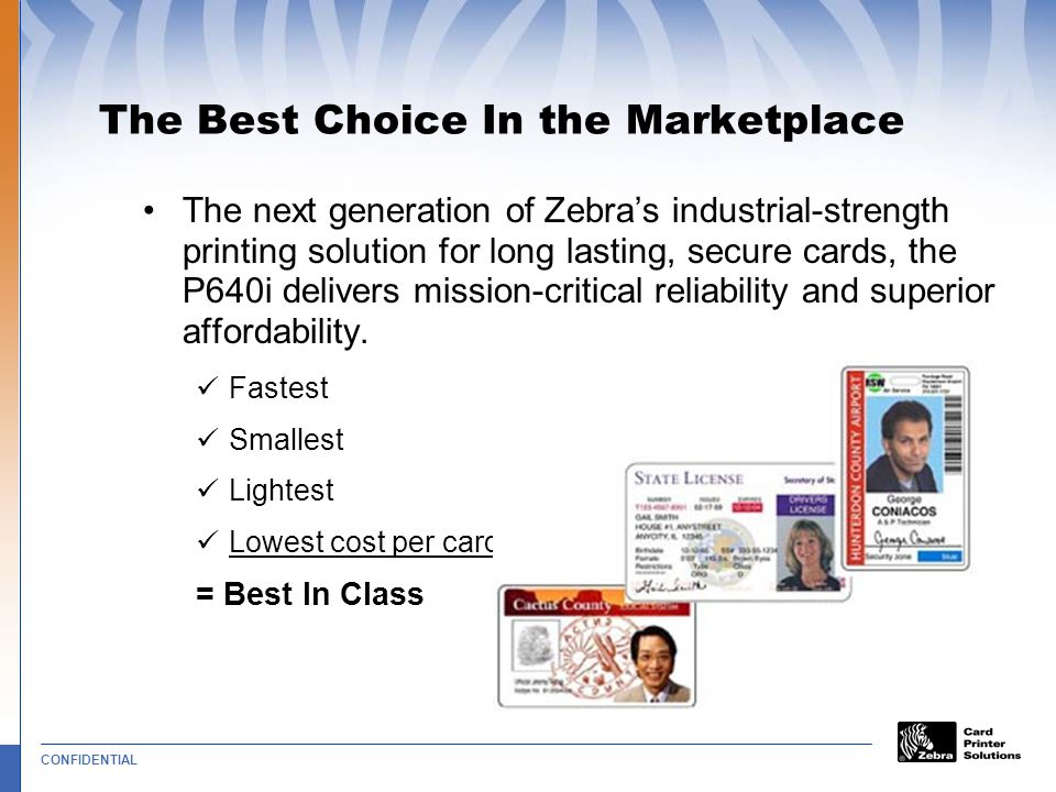 The Best Choice In the Marketplace